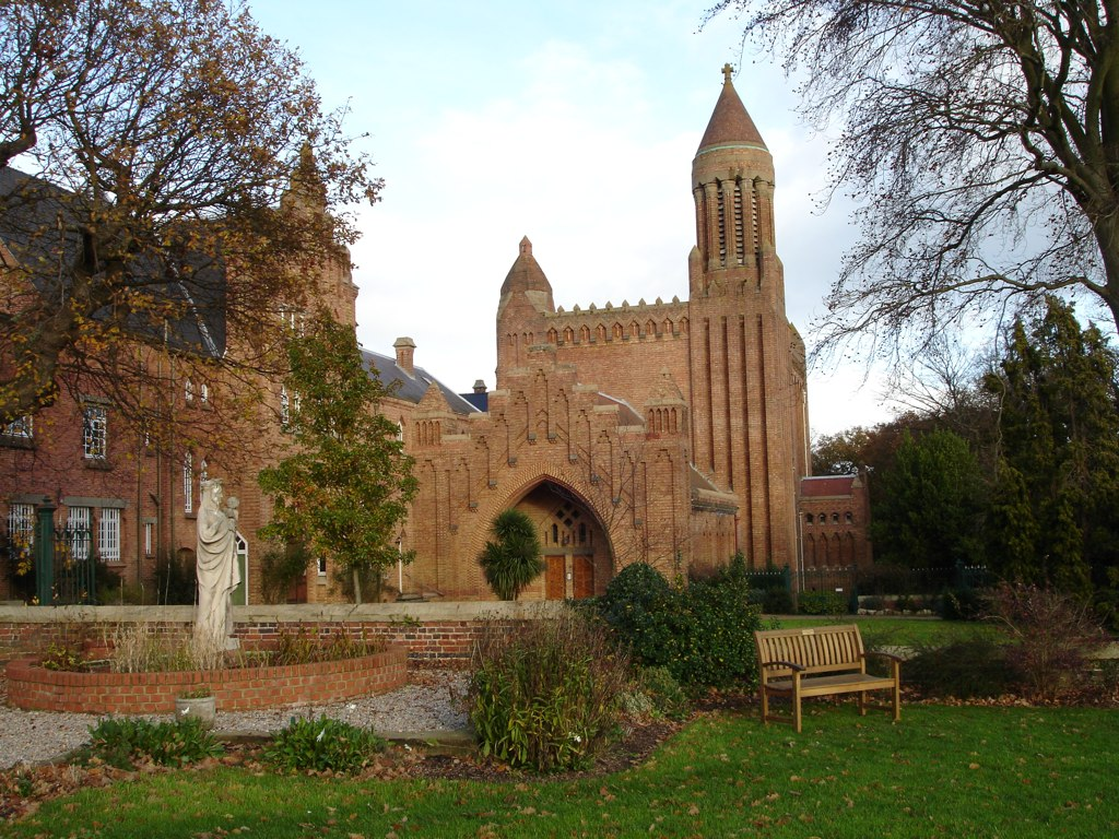 Quarr Abbey: The Two Abbeys