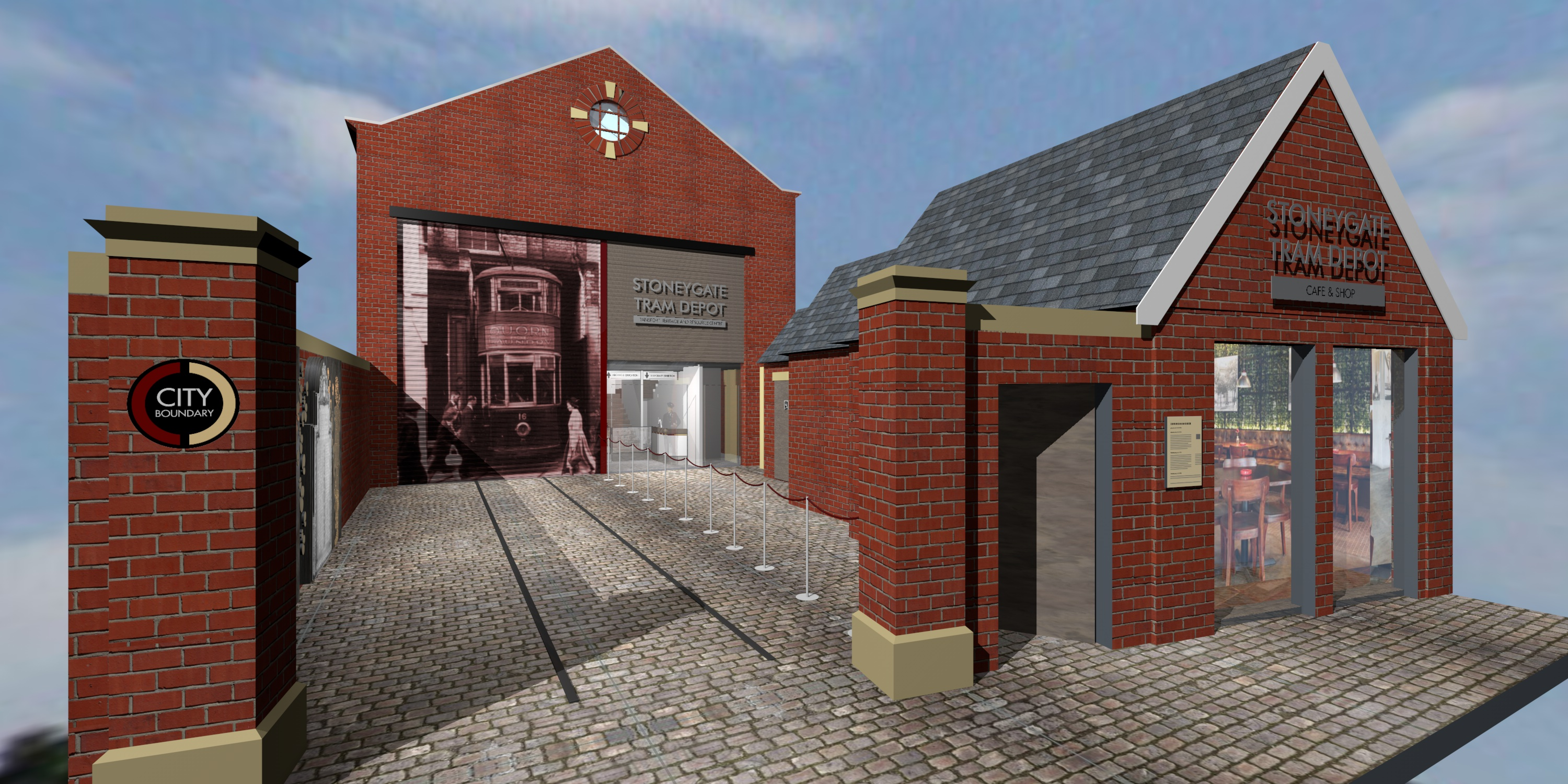 The Old Stoneygate Tram Depot: Leicester Transport Heritage and Resource Centre